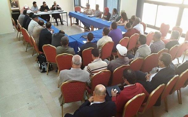 الاجتماع الأول للنقابة الوطنية لمستخدمي المكتب الوطني للكهرباء والماء الصالح للشرب
