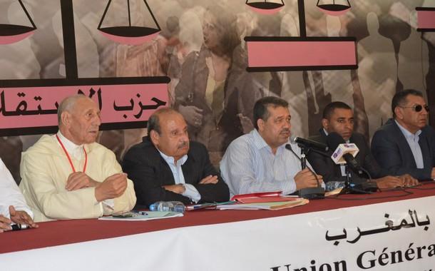 كلمة الأمين العام لحزب الاستقلال في دورة المجلس العام للاتحاد العام للشغالين بالمغرب