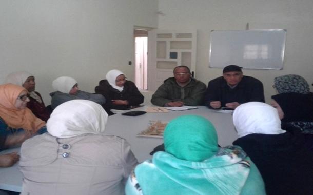 تأسيس المكتب الإقليمي لعاملات دور الرعاية الاجتماعية بورزازات
