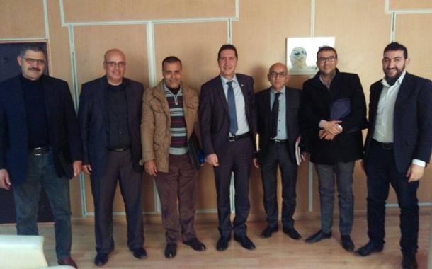 الجامعة الحرة للتعليم بجهة الدار البيضاء سطات في لقاء مع السيد مدير الأكاديمية