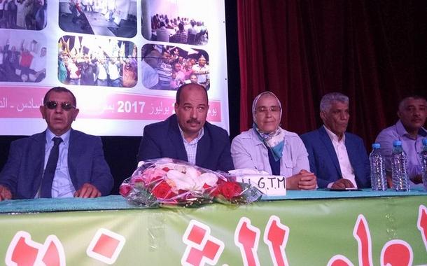 من البيضاء: الكاتب العام للاتحاد العام للشغالين بالمغرب يعطي انطلاقة الخطة التنظيمية الجديدة لإصلاح وتقوية النقابة