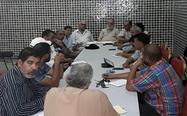 اجتماع المكتب التنفيذي للنقابة الوطنية لمهنيي سيارات الأجرة بالمغرب