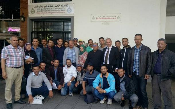 إجتماع الأخ الكاتب العام مع مستخدمي محطات الهيدرولوجيا والسدود