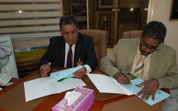 اتفاقية تعاون مشترك بين الاتحاد العام للشغالين بالمغرب والاتحاد العام لنقابات عمال السودان