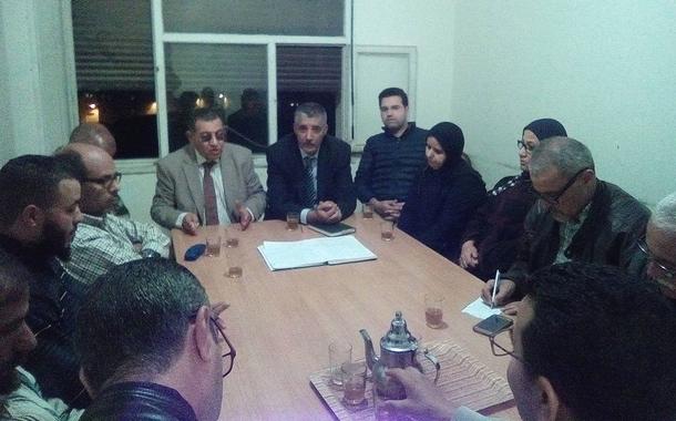 في اجتماع المكتب الإقليمي للاتحاد العام للشغالين بسلا