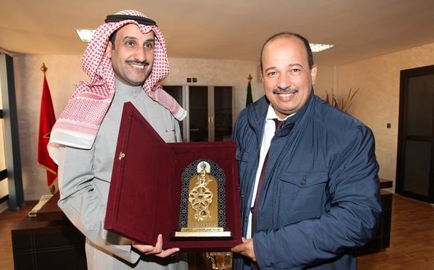 الأخ النعم ميارة يعقد جلسة عمل مع المدير العام لمنظمة العمل العربية