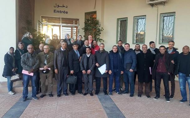 الجامعة الوطنية لموظفي التعليم العالي والأحياء الجامعية تنظم دورة تكوينية بجامعة محمد الأول بوجدة