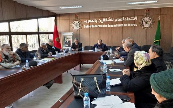 بيان الاتحاد العام للشغالين بالمغرب