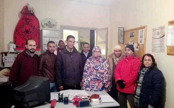 تجديد مكتب الشبيبة الشغيلة المغربية بمدينة طانطان