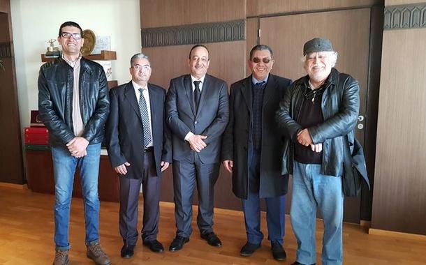 اجتماع نقابة مهنيي السينما مع وزير الثقافة والاتصال بحضور مبعوث المكتب التنفيذي