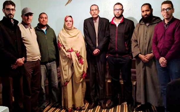 الأخت مريم بوالشايت كاتبة محلية للمكتب الوطني للصيد البحري بالعيون