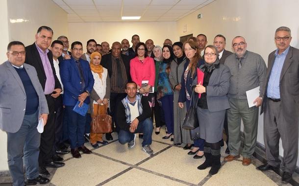 لقاء بين السيدة الكاتبة العامة لوزارة الشباب والرياضة والجامعة الوطنية لموظفي وأعوان الشبيبة والرياضة