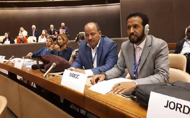 الأخ الكاتب العام يشارك في الدورة 107 لمؤتمر العمل الدولي بجنيف