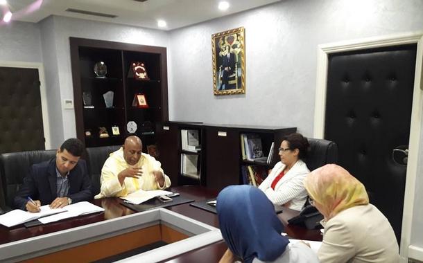 جامعة الشبيبة والرياضة تعبر عن ارتياحها بعد لقاء السيدة الكاتبة العامة للوزارة
