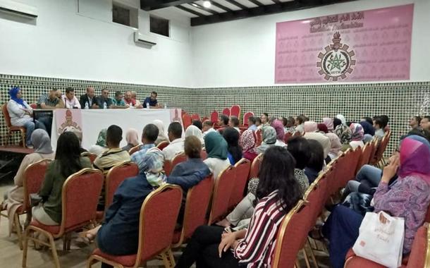 لقاء تواصلي لأطر الجامعة الوطنية للفلاحة بالمكتب المهني للحبوب والقطاني