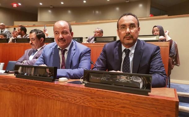 """الكاتب العام للاتحاد العام للشغالين بالمغرب يشجب تجنيد الأطفال من قبل """"البوليساريو"""" باللجنة الرابعة للأمم المتحدة"""