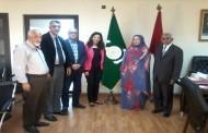 الاتحاد العام يستقبل وفدا عن الحزب الموريتاني الحاكم والاتحاد العمالي