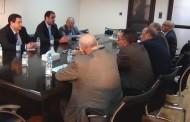 الأخ الكاتب العام يستقبل السيد المدير العام لمنظمة العمل العربية