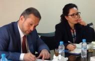 الاتحاد العام يستقبل خبير منظمة العمل الدولية في التجارة والشغل