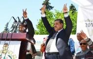 الأخ حميد شباط يترأس مهرجانا خطابيا حاشدا بمدينة فاس بمناسبة فاتح ماي