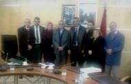 الجامعة الوطنية لموظفي التعليم العالي والأحياء الجامعية تعقد لقاء مع السيد الكاتب العام للوزارة
