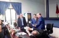 الكاتب العام يشرف على توقيع اتفاقية الشغل الجماعية مع شركة أندري إكسبور