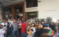 عاجل : رجال الأمن يستعدون لإخلاء مقر نقابة الاتحاد العام للشغالين