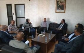 الأخ النعم ميارة يستقبل الكاتب العام للفيدرالية الديمقراطية للشغل