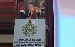 الأخ النعم ميارة الكاتب العام للاتحاد العام يترأس لقاءا تواصليا حاشدا بفاس