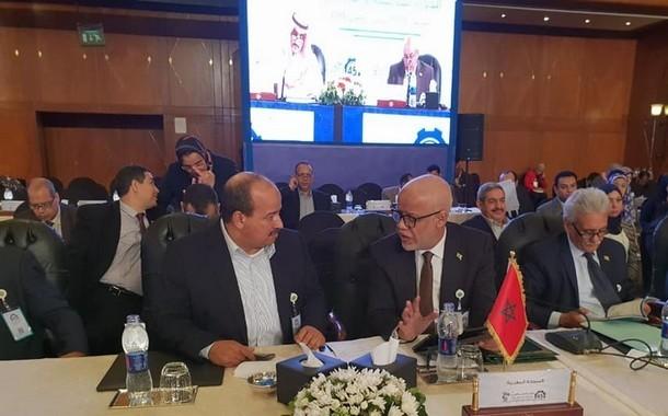 الأخ الكاتب العام يشارك في الدورة 45 لمؤتمر العمل العربي بالقاهرة