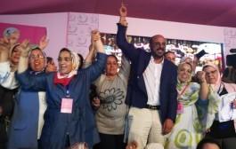 عاجل : إنتخاب خديجة الزومي رئيسة لمنظمة المرأة الاستقلالية