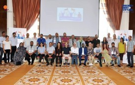 الأخ محمد نوفل عامر يمثل الاتحاد العام في فعاليات الدورة الثانية للأكاديمية العربية للقادة النقابيين الشباب بتونس