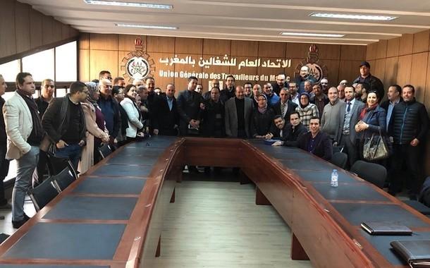 المجلس الوطني الأول لنقابة مستخدمي الوكالة الوطنية لإنعاش التشغيل والكفاءات