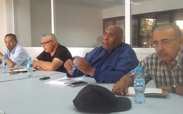 في اجتماع طارئ للمكتب التنفيذي للجامعة الوطنية لموظفي وأعوان الشبيبة والرياضة