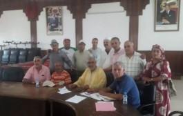 الهوري يشرف على تجديد مكتب فرع أزمور للاتحاد العام للشغالين بالمغرب