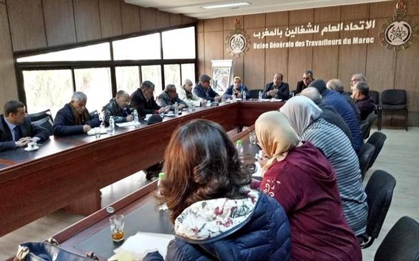 بلاغ الاتحاد العام للشغالين بالمغرب – الرباط في 31 يناير 2019